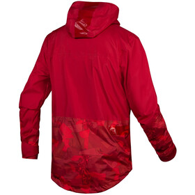 Endura SingleTrack Chaqueta Hombre, rust red